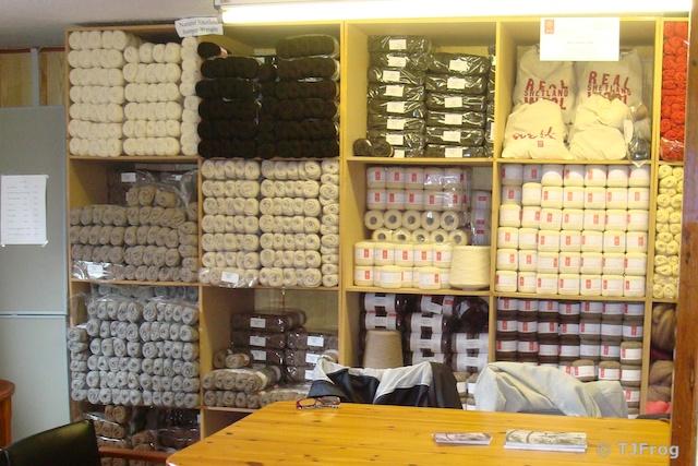 J & S Natural Yarn