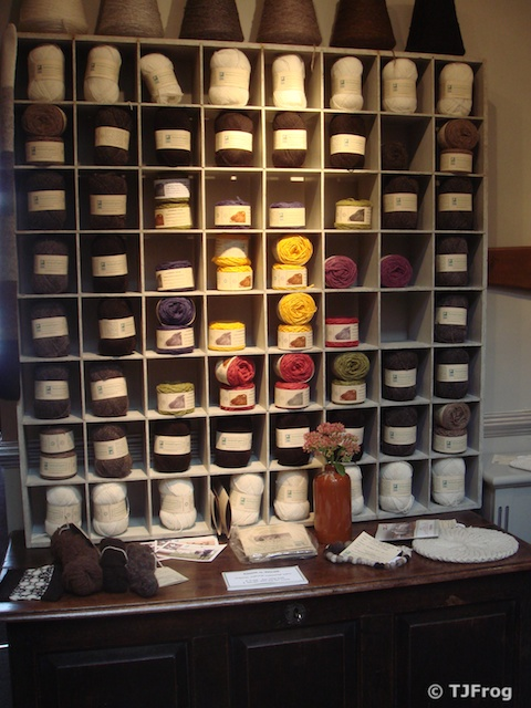 Organic Shetland Yarn