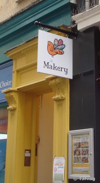 The Makery Doorway