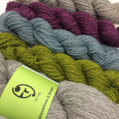 "Yarn Pack for ""Winter Thyme"" shawl"