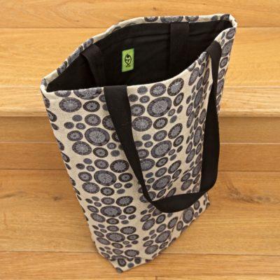 Knitting Bag, Shopper Style – Indigo Blue