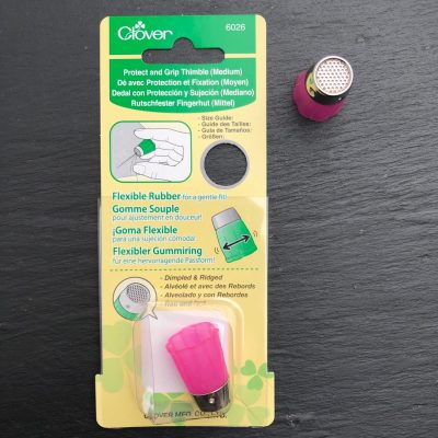 Clover Protect & Grip Thimble – Medium