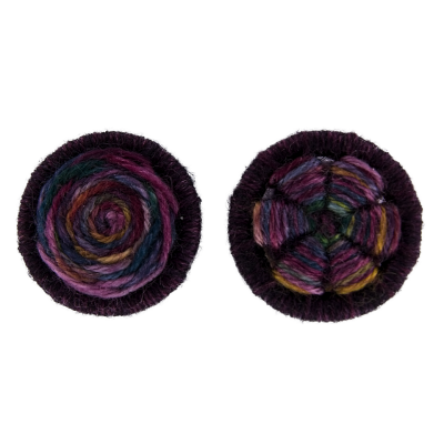 2 designs – The Spiral & the Flower – 4 x 23mm rings