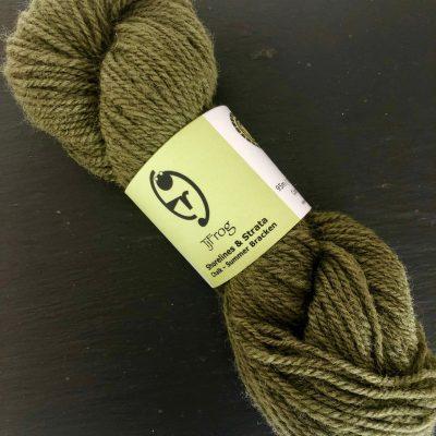 Shorelines & Strata – Chalk, Summer Bracken DK 50g