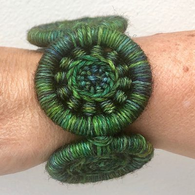 Statement Bracelet – 3 Dorset Button Designs