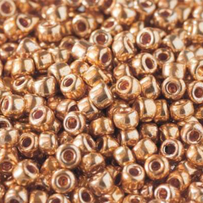 Metallic Gold Beads – Code 562 – S8